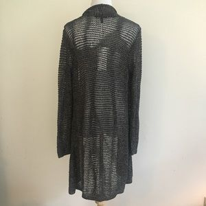 Eileen Fisher Sweaters - NWT Eileen Fisher Variegated Sparkle Long Cardi L